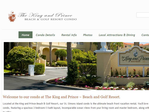 King and Prince Resort Condo